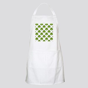 Cute Happy Frog Pattern Apron